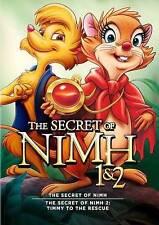Secret of Nimh 1 & 2 DVD