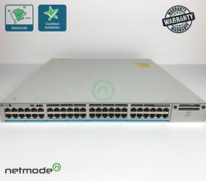 Genuine-Cisco-C9300-48UXM-A-Switch-48-port-2-5G-12-mGig-UPOE-Network-Advantage