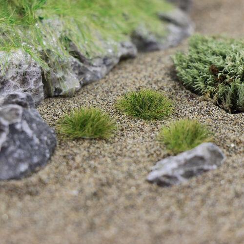 1 Pack 50 Stück Hell Grün Gras Cluster Landschaft DIY Craft Wargame