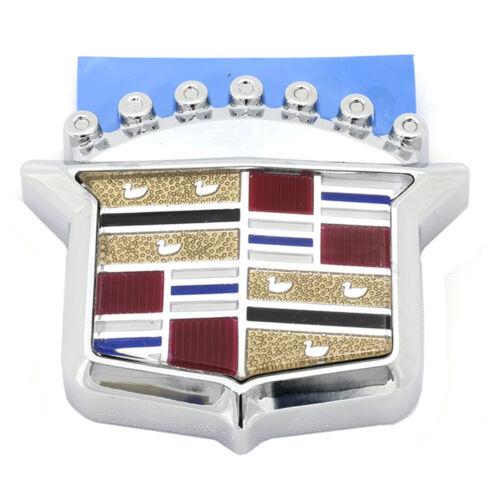 OEM NEW Front Grille Emblem Crest Chrome Escalade Deville El Dorado 25676200