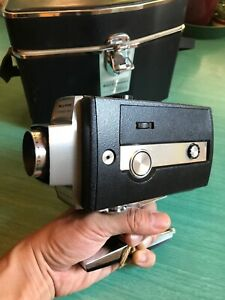 BELL-amp-HOWELL-MODEL-306-AUTOLOAD-SUPER-8-MOVIE-CAMERA-OPTRONIC-EYE-w-ORIG-CASE
