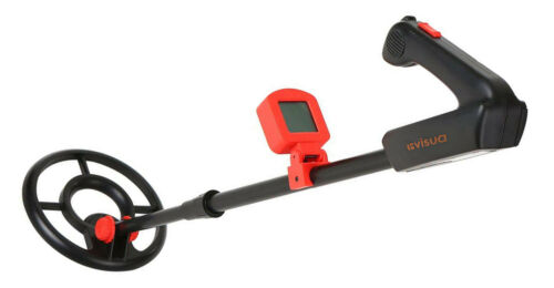 Visua VSMD-ONE Easy to Operate Junior Lightweight Metal Detector Waterproof Coil