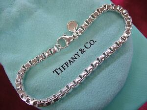 Image Is Loading Tiffany Amp Co Sterling Silver 7 3 4