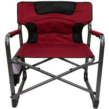 Pleasing Ozark Trail Xxl Folding Padded Director Chair With Side Ocoug Best Dining Table And Chair Ideas Images Ocougorg