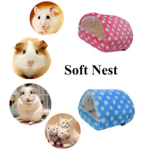 Details About Uk Nest Fleece Guinea Pig Mat Hamster Sleeping Bed Warm Pad Small Animal House
