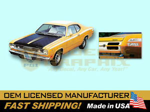 1971-1972-Plymouth-Duster-TWISTER-w-Eyeballs-COMPLETE-Decals-amp-Stripes-Kit