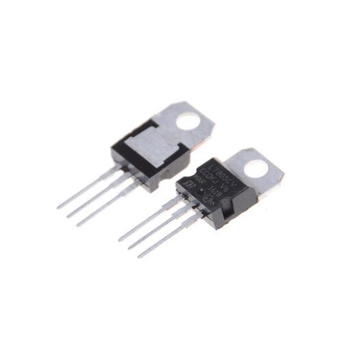 10Pcs IC L7805CV L7805 TO-220 5V Spannungsregler JMH-R
