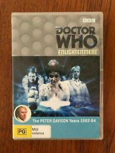 Doctor-Who-Enlightenment-DVD-Region-4-LIKE-NEW