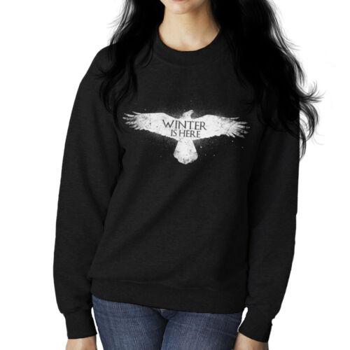 Winter Is Here Game Of Thrones Women/'s Sweatshirt