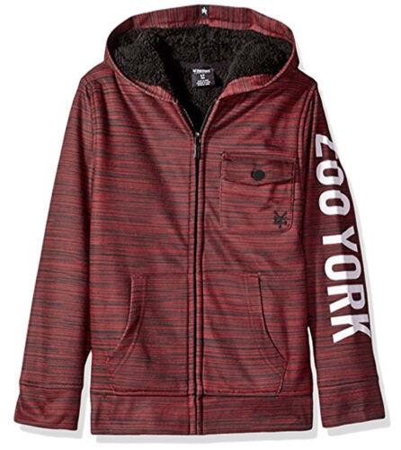 R580 • Zoo York Heavy Sherpa Lined Zip Hoodie • NWT Boys Medium 10//12 #28550-E3