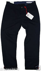 Ben-Sherman-Mens-Chino-Regular-Pants-in-Classic-Navy-Colour-Size-W-30-L-32
