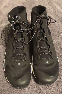 5614023c2e0 Details about UNDER ARMOUR UA SPEEDFIT HIKE MID BOOTS BLACK (1257447-005)  MENS Size: 12