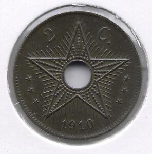 2-cent-1910-Prachtig-FDC-BELGISCH-CONGO-ALBERT-I-nr-7440