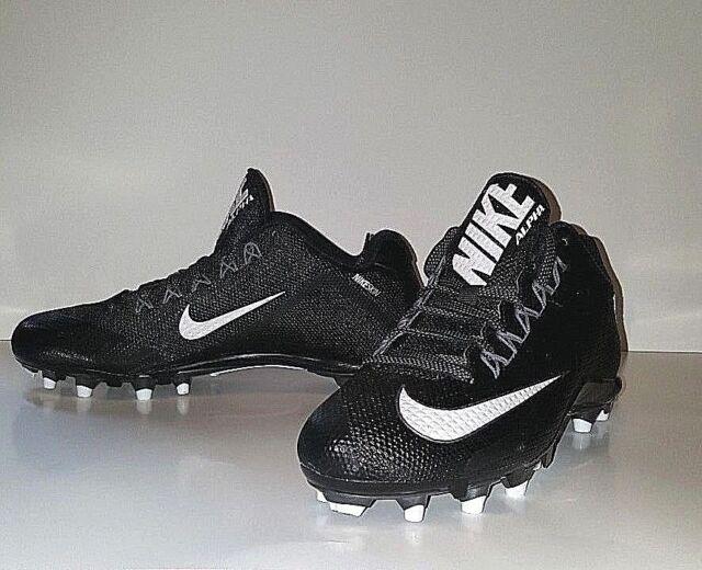f35df0050cbb Nike Alpha Pro 2 TD Football Cleats - Men s Size 10 - Black White