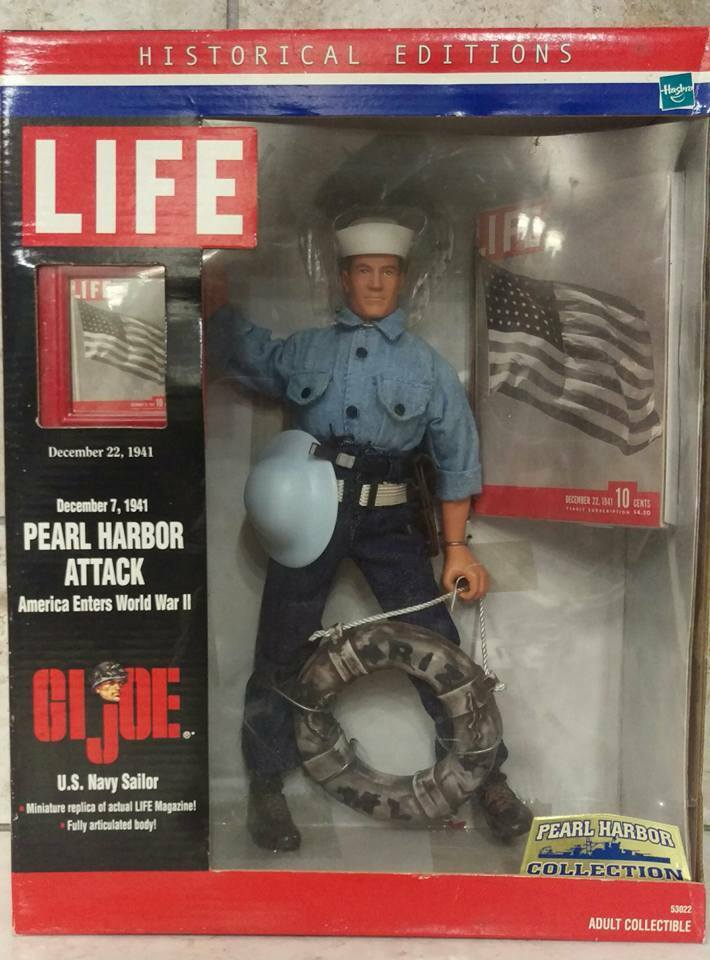 GI Joe Life Magazine Pearl Harbor Collection Navy Sailor Miniature Life Mag.