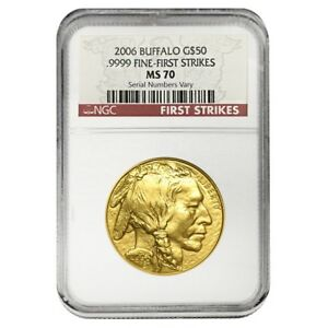 2006-1-oz-Gold-American-Buffalo-NGC-MS-70-First-Strikes