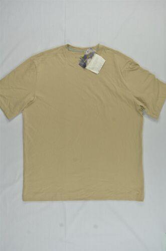 NEW MEN/'S CLUB ROOM SOLID CREW-NECK S//S TEE T-SHIRT TAN SZ S $12.99 #15-99209