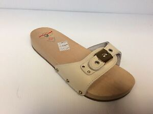Shoes Slippers Hoof Band Adjustable Wood Beech Made IN Italy Number Small