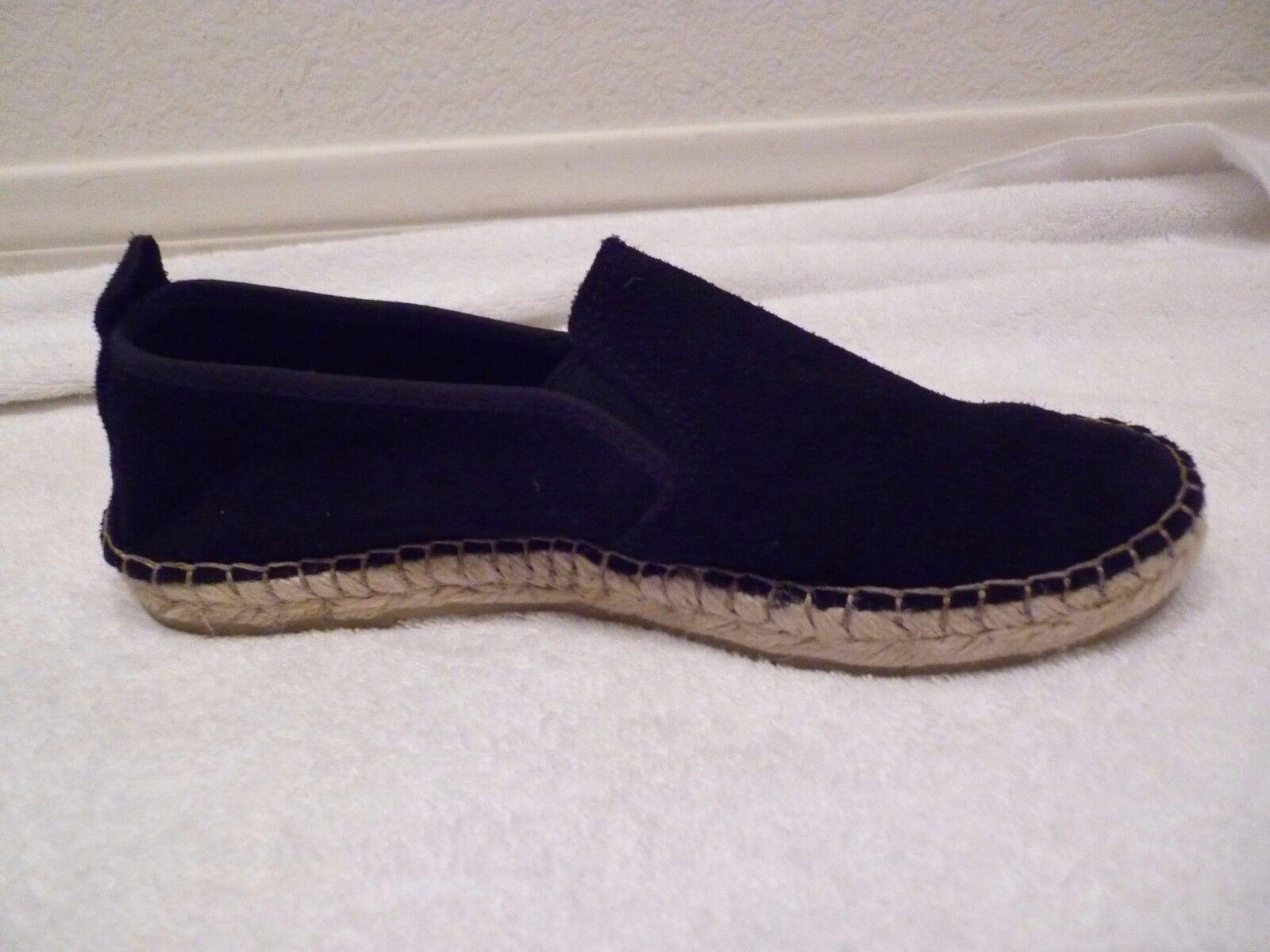 Free People Canyon espadrills Slip On Suede Negro Zapatos Talla Talla Talla 37 7 US  Venta en línea precio bajo descuento