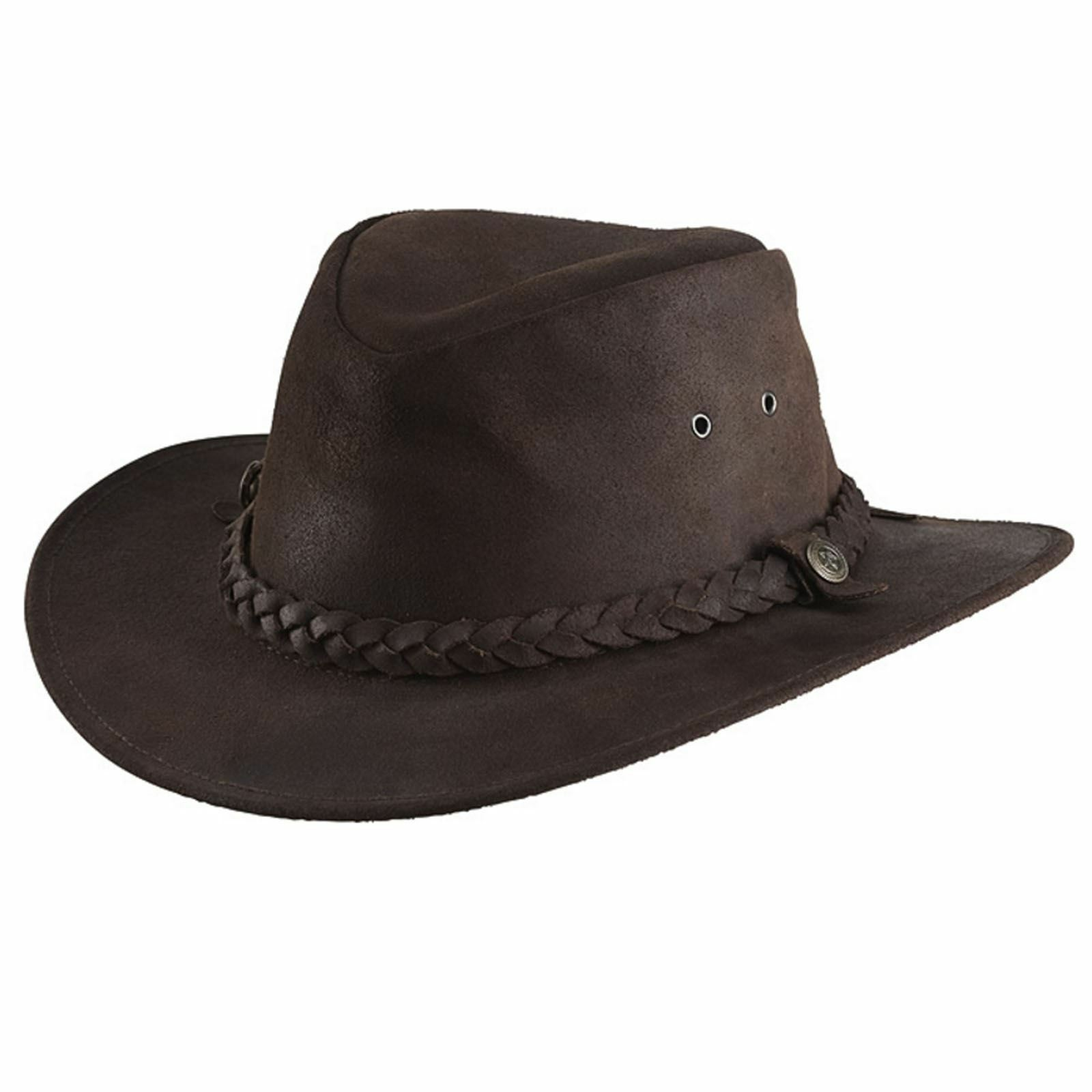 Randol's Oiled  Suede Western Hat Havana  40% off