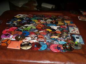 Large PC Game and Program Lot Over 120 Disks