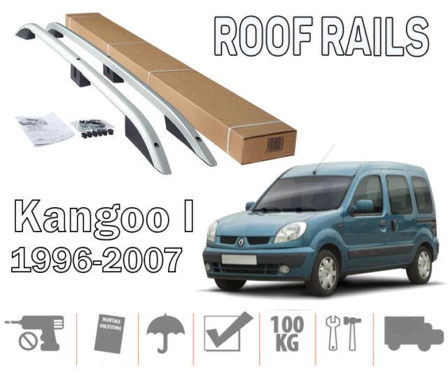 Barres de toit longitudinales Renault Kangoo 1999-01/2008 aluminium EN STOCK