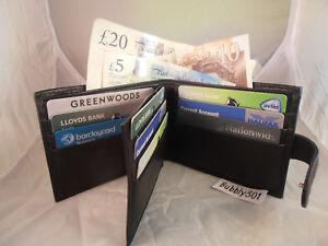 Kleidung & Accessoires Geldbörsen & Etuis 1103 Ranger Gents Mens Leather Wallet Note Case Purse Credit Cards Holder SorgfäLtige Berechnung Und Strikte Budgetierung