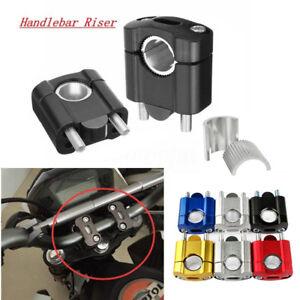 7-8-039-039-1-1-8-039-039-CNC-Motorcycle-Handlebar-Mount-Clamp-Riser-Pit-Dirt-Bike-22mm-28mm