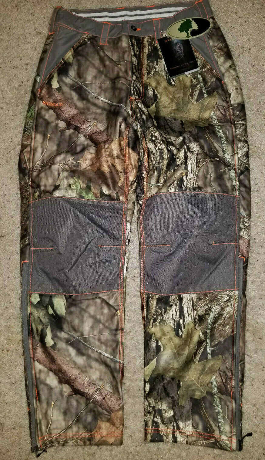 NOMAD Mossy Oak Break Up Country Camo Lined Hunting Pants M Inseam 29  New NWT