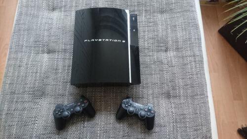 1 von 1 - Sony PlayStation 3 (CECHK04 - PAL) - 80 GB - Piano Black - !!! inkl. 5 Spiele!!!
