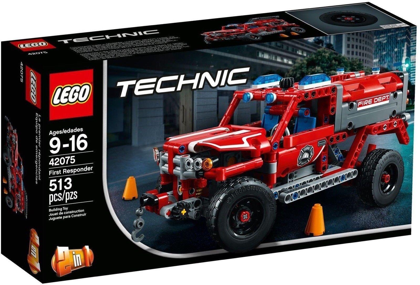 LEGO TECHNIC UNITA DI PRIMO SOCCORSO - LEGO 42075