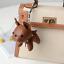 thumbnail 10 - French Bulldog Keychain Pompom Key Ring Cute Holder Bag Charm Keyfobs Gift YU