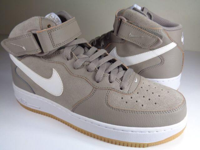 Force Light White Nike 1 9315123 Gum Mid 204 Brown Sz Air '07 Taupe vwOm8nN0