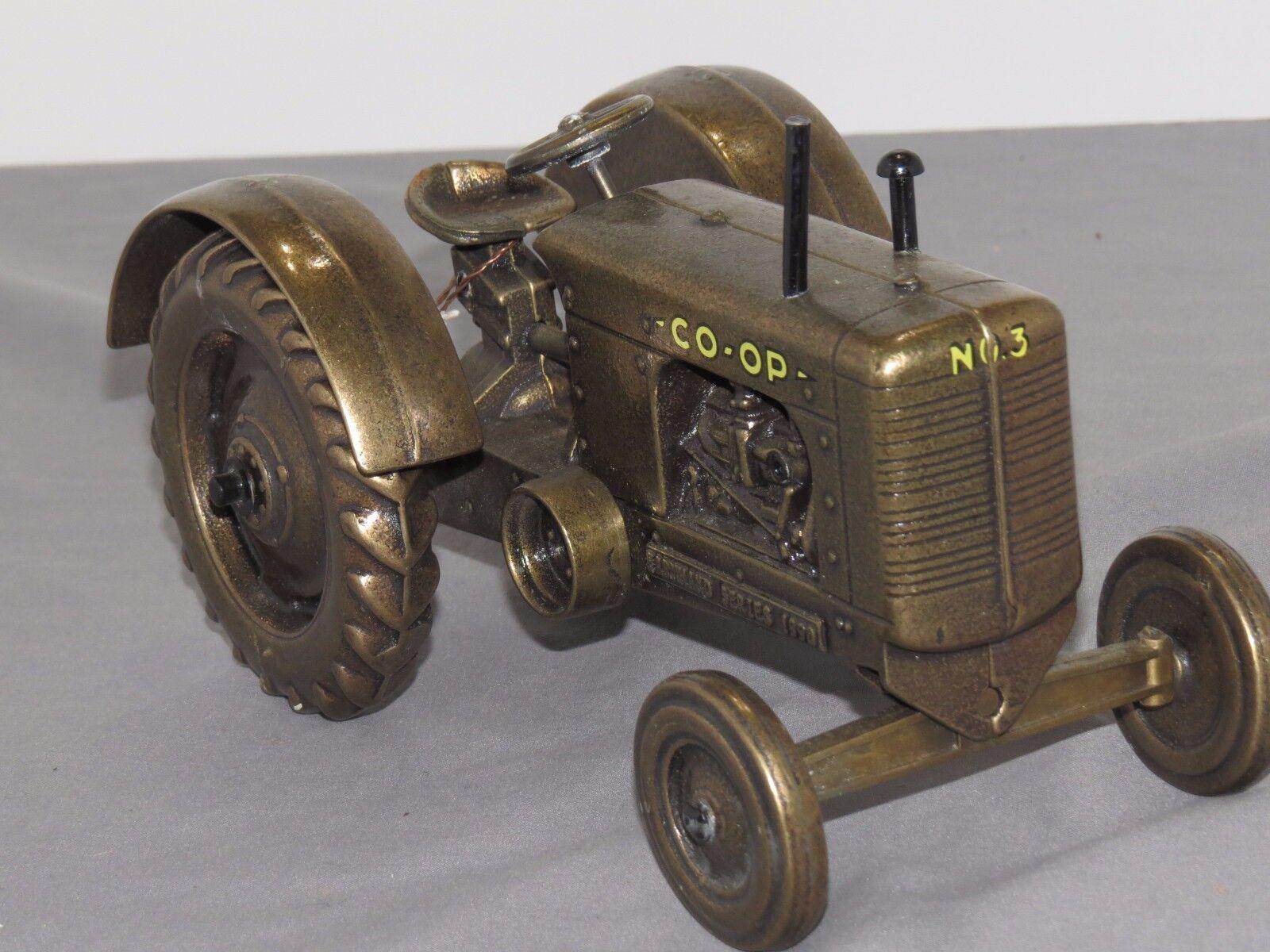 Brass Scale Models Coop Co-op jouet tracteur échelle 1 16th rare en laiton No.3 Standard