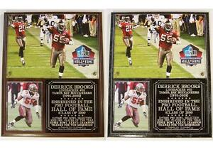Derrick Brooks 55 2014 Pro Football Hall Of Fame Tampa