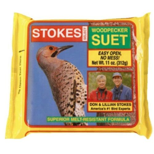 12 Pack Stokes Select 11 Oz Woodpecker Bird Food Suet 848