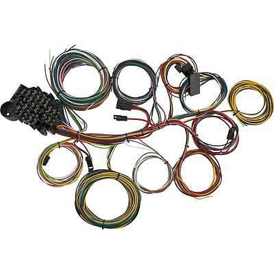 22 Circuit Universal Wiring Harness, Street Rod Wiring Harness Diagram