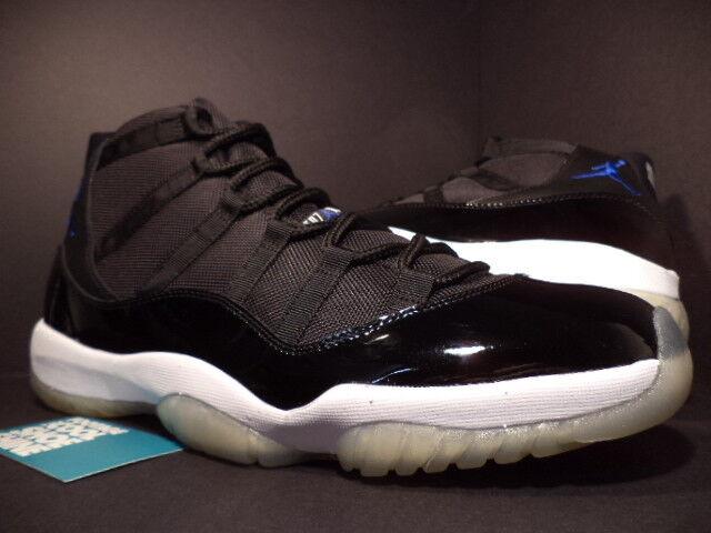 2018 Nike Air Jordan XI 11 Retro SPACE JAM BLACK ROYAL BLUE WHITE 378037-041 9.5
