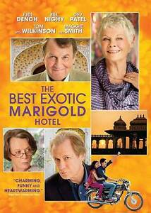 THE BEST MARIGOLD HOTEL (DVD) NEW FACTORY SEALED
