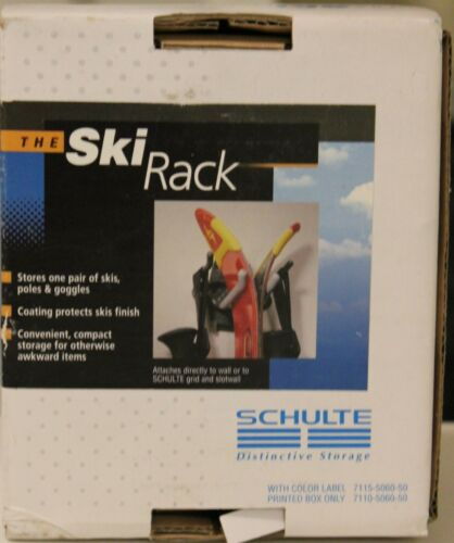 NEW THE SKI RACK STORAGE BY SCHULTE DISTINCTIVE STORAGE ORGANIZER