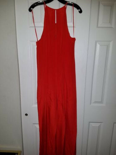 J.Crew Collection Women's Dramatic Jumpsuit - Red - Size 12 - Brand New