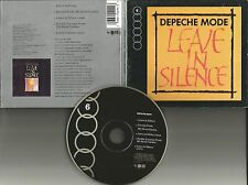 DEPECHE MODE Leave in Silence 5TRX w/ MIXES Digi pac LIMITED USA CD single 1991