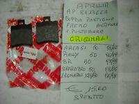 APRILIA COPPIA PASTIGLIE FRENO ANTERIORE POSTERIORE AREA51/RALLY/SR AP8113663