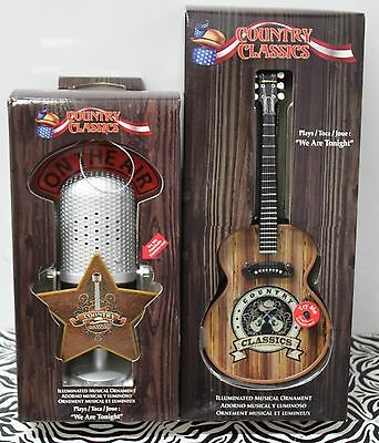 2-SET COUNTRY MUSIC We Are Tonight MICROPHONE GUITAR ...