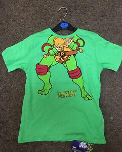 Teenage Mutant Ninja Turtles T-Shirt Ages 18 Months To 8 Years