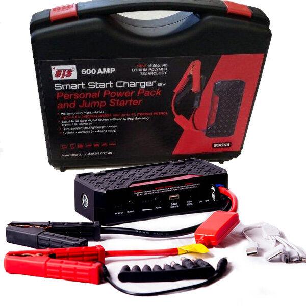 Smart Démarrage Compresseur,Bloc D'Alimentation / Câble 600 Amp Chargeur de