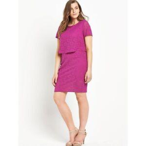 Pink-Bodycon-Dress-Size-18-BNWT-Lovedrobe