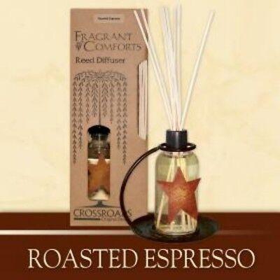 Roasted Espresso Scented Reed Diffuser Crossroads Original Designs New