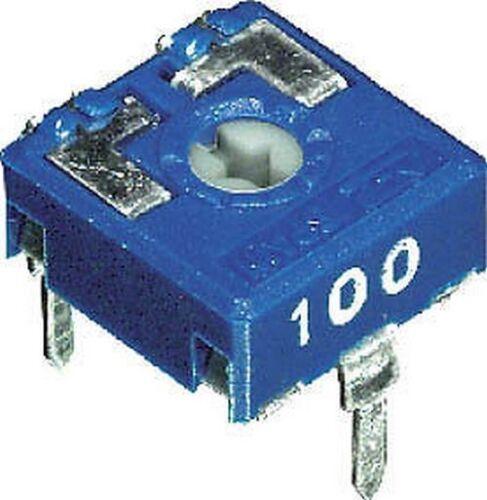 3pz TRIMMER ORIZZONTALE 22Kohm 10x10 PASSO 5mm 2//64