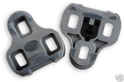 tacchette pedali Look keo Grip grigio gioco 4,5°